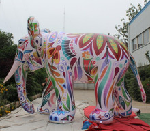 Giant Inflatable Painting Elephant Animal for show