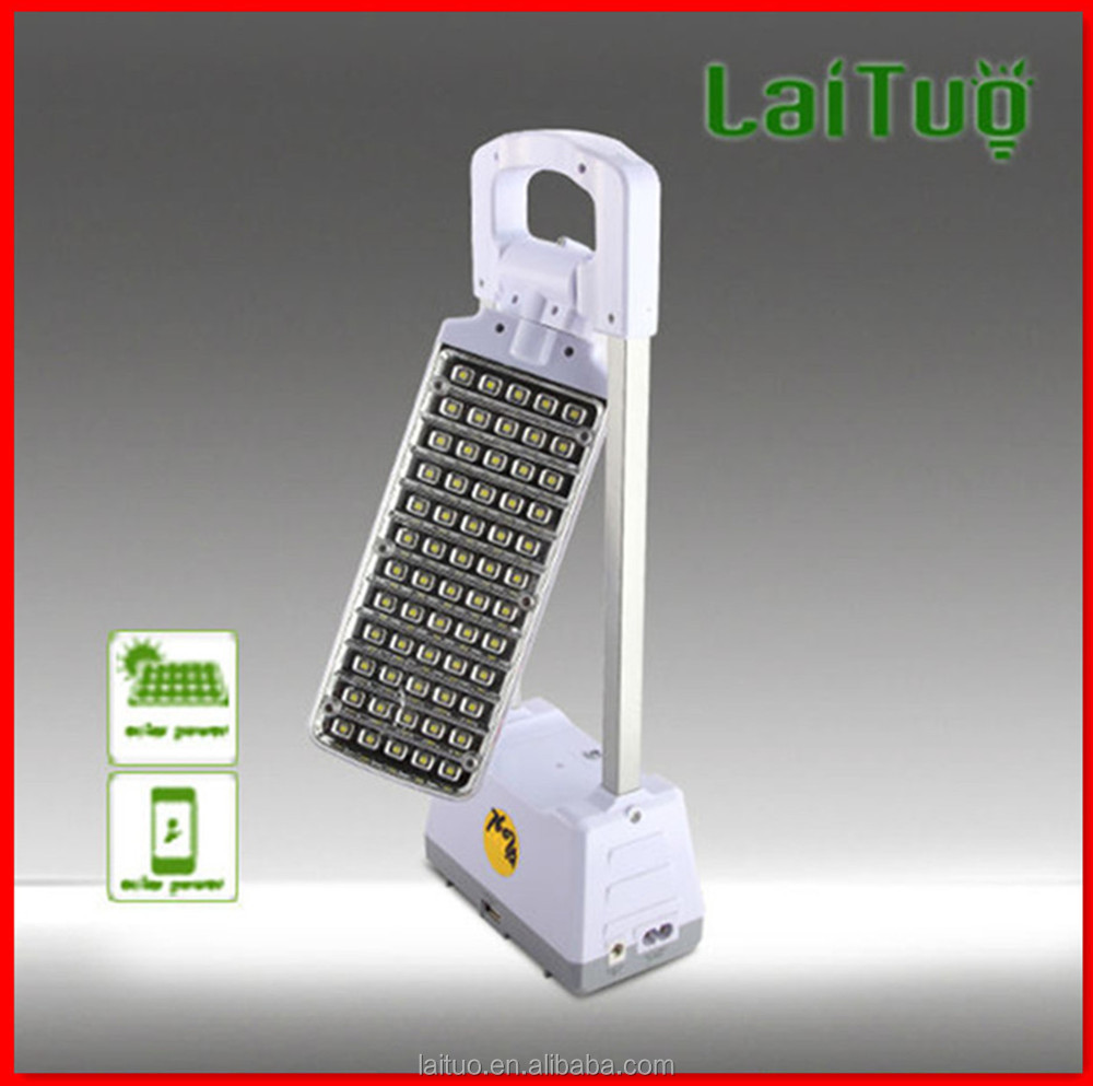 2015 new made in china mfga led folding 3w rechargeable battery study power Touch switch desk reading solar panel lamps