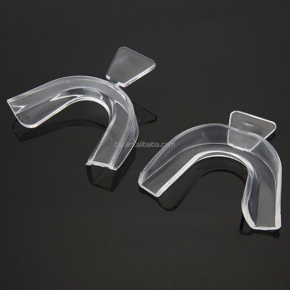 Wholesale High Quality Transparent Silicone Gel Teeth Whitening Mouth Tray