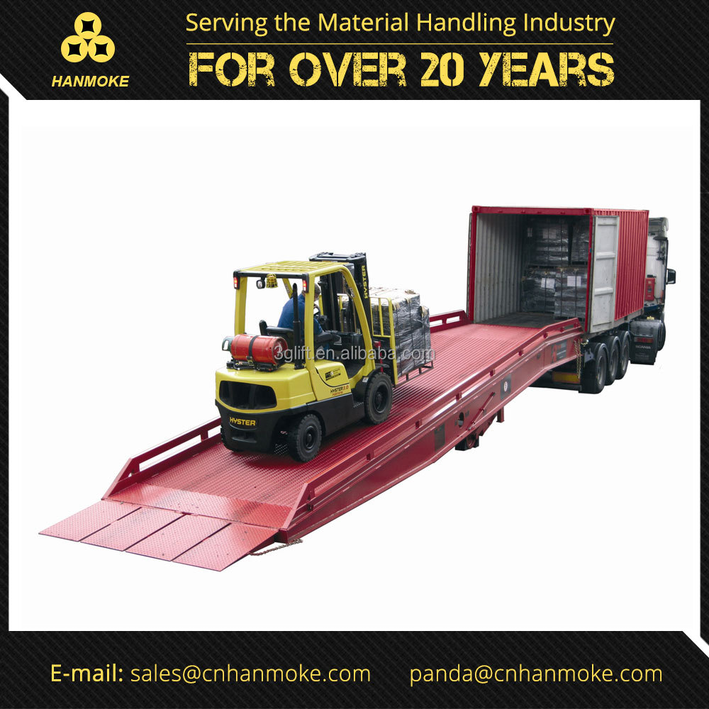 Mobile Steel Loading Dock Ramp Leveler for Sale