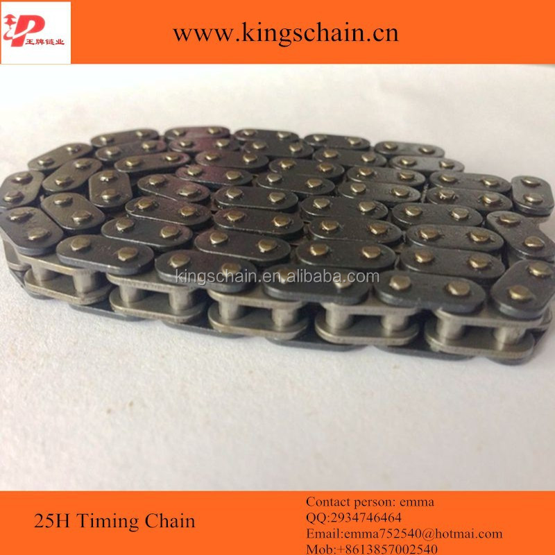 A grade quality 40Mn black motorcycle engine parts 25H timing chain