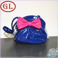China supplier PU surface mini cute waterproof sling bag for girls