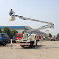 China Top1 Supplier Provide Dongfeng Double-Cabin 18m Maintenence Aerial Lift Truck