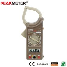 Factory Direct wholesales low price Digital clamp meter multimeter M266 manual with CE RoHS