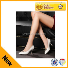 high heel Italian women cheap mature synthetic leather shoes