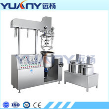 cream lotion mixing filling making machine