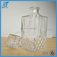 250ml Glass Bottles With Glass Cork Stopper For Whisky/Liquor/Alcohol
