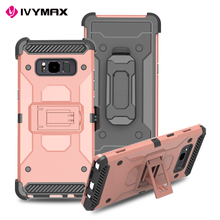 Ivymax Heavy Duty Holster Tpu Pc For Samsung Galaxy Note 8 Case,Note 8 Case