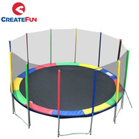 CreateFun 6FT 8FT 10FT 12FT 13FT 14FT15FT 16FT Cheap Wholesale Large Outdoor Trampoline For Sale