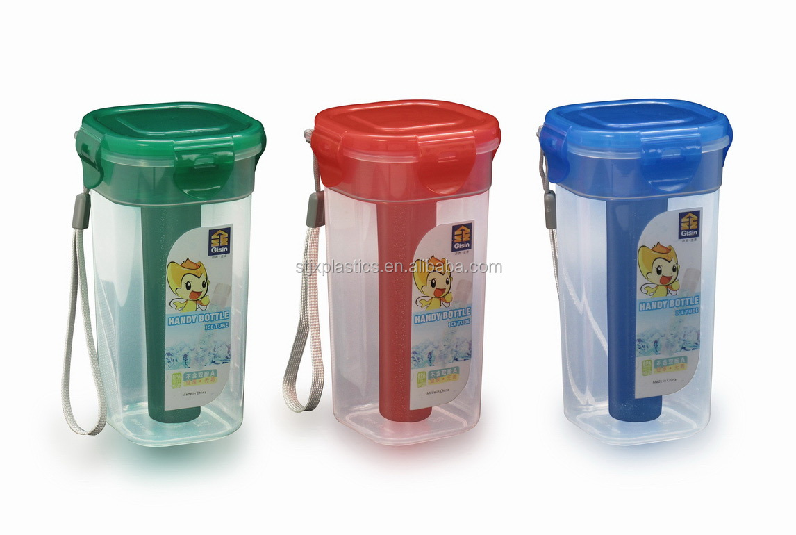 wholesale clear plastic water cup with lid