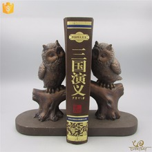 Wholesale Decor Modern Unique Handmade Resin Craft Gift Animal Statue Adjustable Custom Bookends
