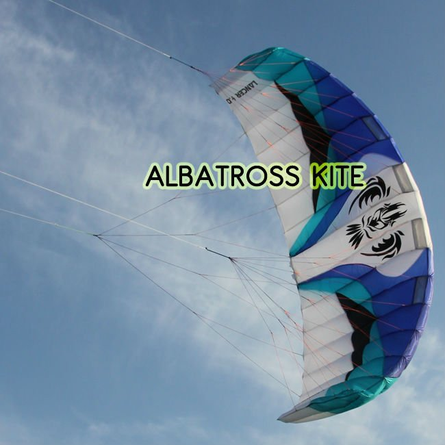 3 lines new trainer surfing kite with bar