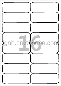 Self adhesive A4 sheet blank shipping <strong>label</strong> price printable <strong>labels</strong>