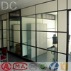 The fashion of modern 80 office wall partition glass material aluminum profiles
