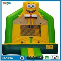 Best quality spongebob inflatable bouncer house