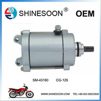 Super quality CG-125 starter motor for motorcycle engine part