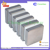 High quality n32-n52 strong rare earth flat rectangular magnets