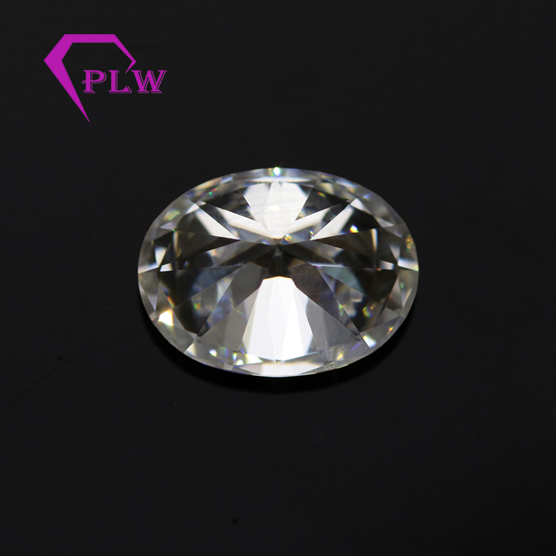 d white colorless loose moissanite oval <strong>cut</strong> 2 carat price