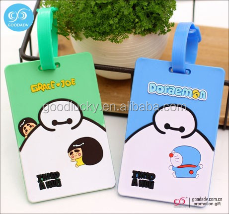 OEM factory promotional travel durable cool luggage tag custom hotel luggage tag