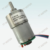 Low noise Geared micro dc electric motor 6 volt