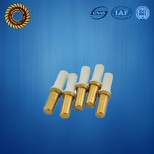 CNC machining precision copper pin for electrical connector