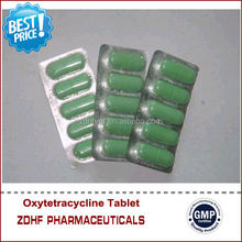 Bird Pigeon Tetracycline Antibiotic Oxytetracycline Tablets With 125mg