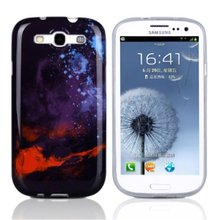 Colorful mobile phone back cover case for samsung galaxy s3 i9300