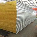 Metal wall roof fireproof materials sandwich panel with SGS