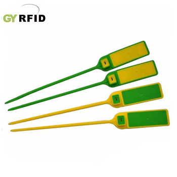 3-5cm Plastic Seal NFC Cable Tie Tag
