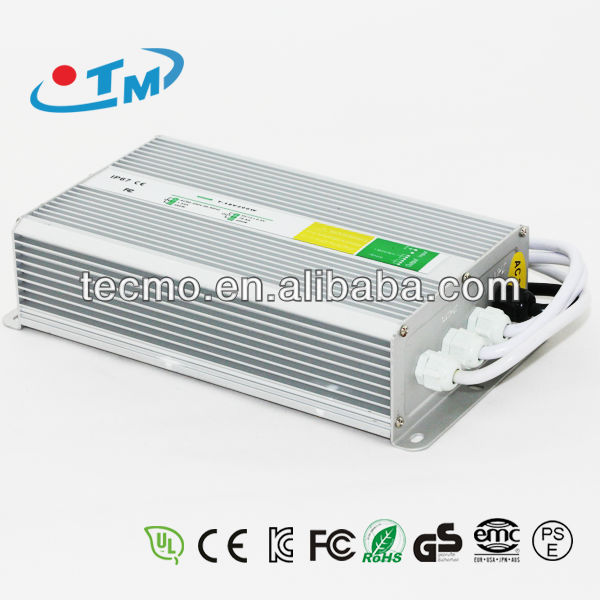 12V 240W Constant Voltage Waterproof Electronic LED Driver Case IP67 With CE RoHS