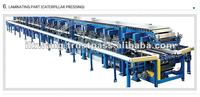 Sandwich panel producing line insulated Polyurethane, Mineral wool, EPS