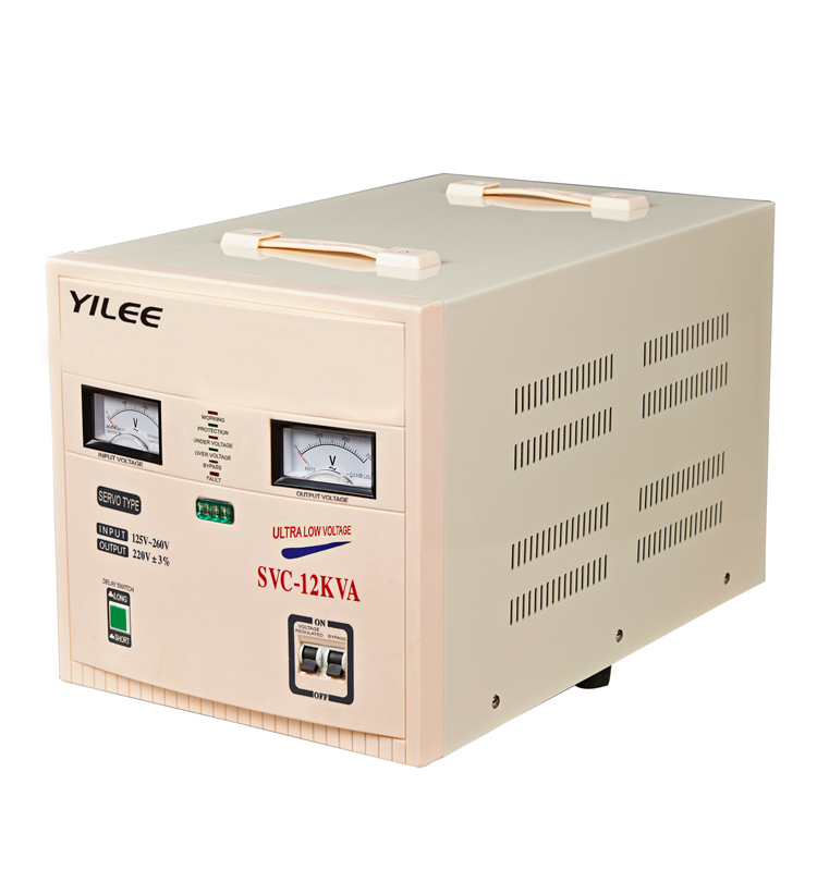 10kva Svc High Precision Servo Voltage Regulator