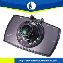 2.7 inch dash camera 140 Wide Angle Lens car Recorder with G-Sensor IR Night Vision G30