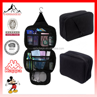 Personal Travel bathroom Organizer Hanging tote bag Shower toiletry bag