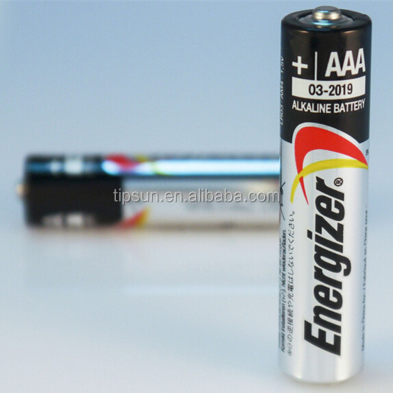 Hot Sale 1.5V Energizer LR03 AAA Alkaline Battery