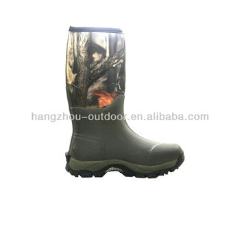 2014 New Camo Neoprene Hunting Boots