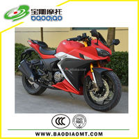 250cc Automatic Motorcycle Motorbike Racing Sport Motorcycle Four Stroke Engine Motorcycles Baodiao Manufacture BWE002