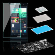 9H Premium Real Tempered Glass Film Screen Protector for huawei ascend p6