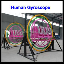 electric human gyroscope space ball for sale