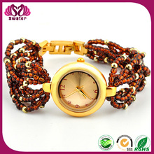 New Arrivals 2016 Seed Bead Women Watches Free Samples