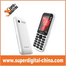2.4inch Spreadtrum 7701 big memory 2 chip phone/3G WCDMA feature bar phone from China