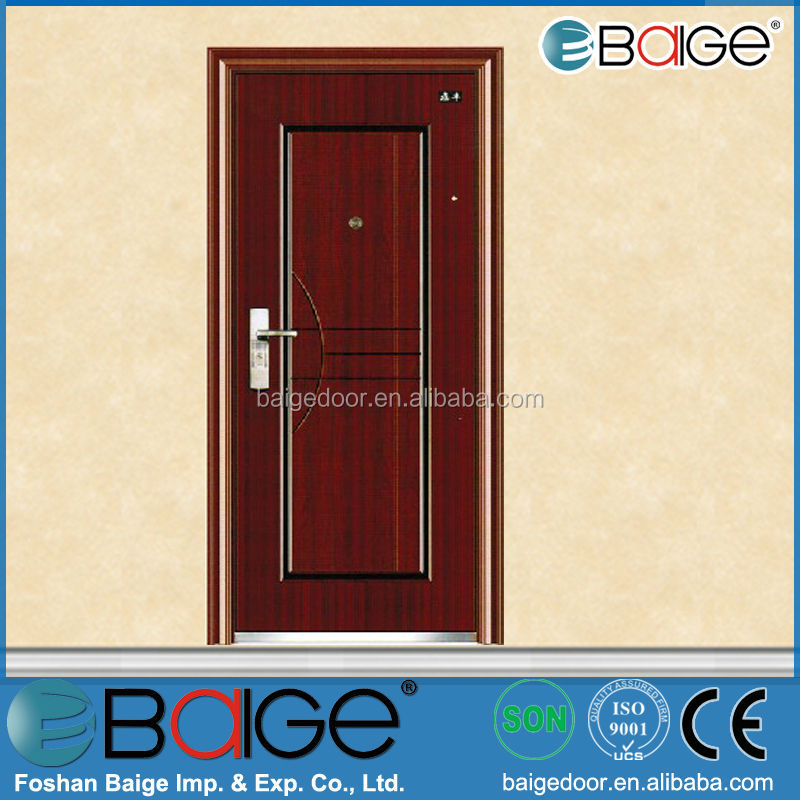 BG-S9097 steel door used exterior/steel theft proof door/steel door manufacturers