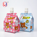 New Trend Product Food Grade Jelly Packaging Spout Drink Bags With Logos Plastic