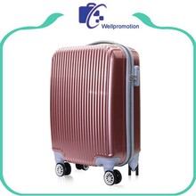 Hot selling 20 24 28 inch hard plastic trolley suitcase
