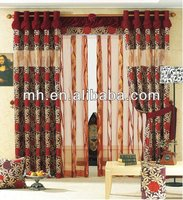 100% polyester printed curtain, upholstery fabric