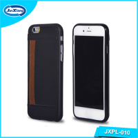 New Product Mobile Phone Accessories PU Leather Case For Iphone 6 With Card Slot