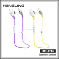 Powerful Anti-fall wireless sport stereo oem bluetooth headset with fatory