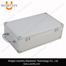 2015 Good Quality Silver Aluminum Briefcase Tool Box Tool Case