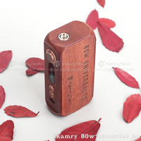 Wooden body mod Kamry 80W UTC temp control cheap e-cig mod
