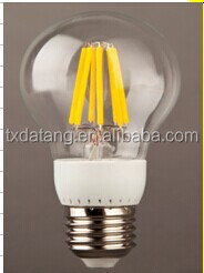 2014 hot sale:LED Filament Bulb 2W 4W 6W 8W